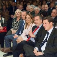 Με τον Υποψήφιο Περιφερειάρχη Γ. Κουμουτσάκο,  τον Υπουργό Ναυτιλίας Μ. Βαρβιτσιώτη και την συνυποψήφια  Ν. Τζαβέλλα