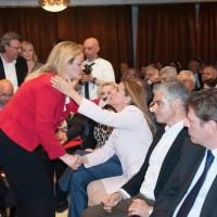 Με την συνυποψήφια Ρίτα Μωραϊτάκη
