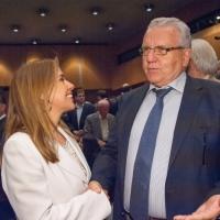Με τον συνυποψήφιό μου Χριστόδουλο Στεφανάδη