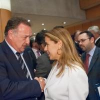 Με τον Πρόεδρο του Δικηγορικού Συλλόγου, Βασίλη Αλεξανδρή