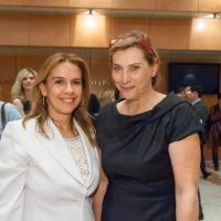 Με τη Διευθύντρια του Ινστιτούτου Δημοκρατίας Κωνσταντίνος Καραμανλής, Μαριάννα Πυργιώτη
