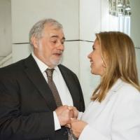 Με τον Ευρωβουλευτή, Κώστα Πουπάκη