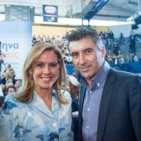 Με τον συνυποψήφιό μου, Θοδωρή Ζαγοράκη